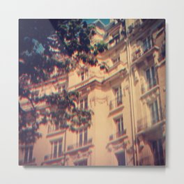 Paris in June Metal Print