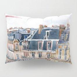 Roofs of Paris Pillow Sham