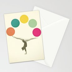 Gymnastics II Stationery Cards