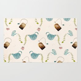 TEA PARTY PATTERN Rug