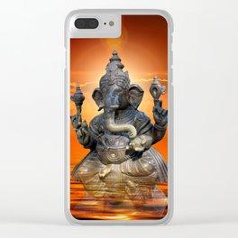 Elephant God Ganesha Clear iPhone Case