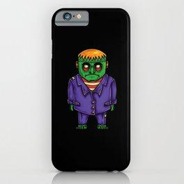 Frankenstein's Monster Drawing iPhone Case