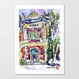 20160825-1 Marba Semarang Oldtown Canvas Print