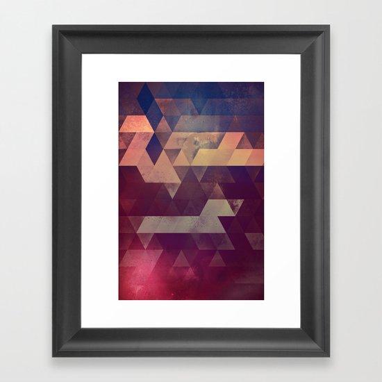 byyk hymm Framed Art Print
