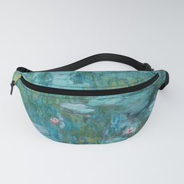 Water lilies by Claude Monet, 1915 Fanny Pack