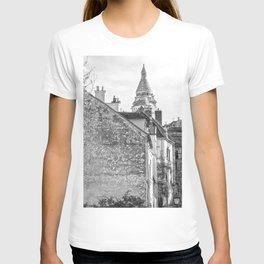 Sacre Coeur view Montmartre Paris T-shirt