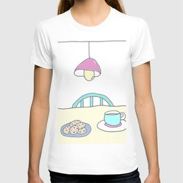 Hot beverage and cookies T-shirt