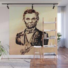 LINCOLN Wall Mural
