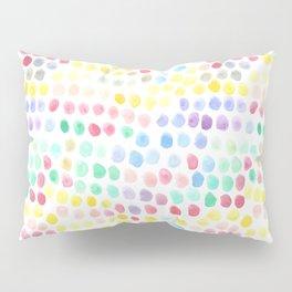 Watercolour Dots Pillow Sham