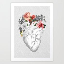nature love Art Print