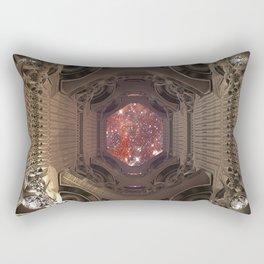Space Checkpoints TA KentPress Rectangular Pillow