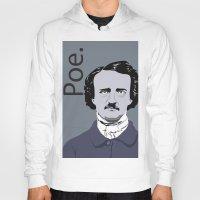 poe Hoodies featuring Poe. by Tara Durrant Designs