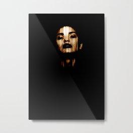 Women from the dark Metal Print