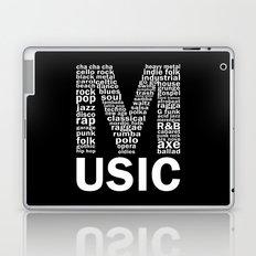 Invert Music Genres Laptop & iPad Skin