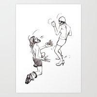 Soulmate Shuffle. Art Print