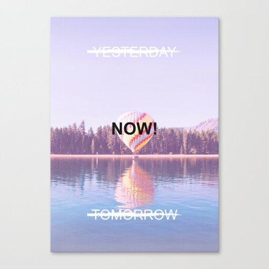 Inspiration - Do It Now! Canvas Print