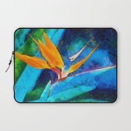 Bird Of Paradise Plant art Laptop Sleeve
