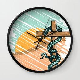 Snake's Death Wall Clock