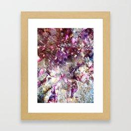 Purple Expiration Framed Art Print