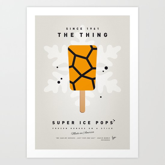 My SUPER ICE POP- No15 Art Print