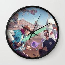 2017 NA LCS Summer Finals Promo HD Wallpaper Background Official Art Artwork League of Legends lol Wall Clock