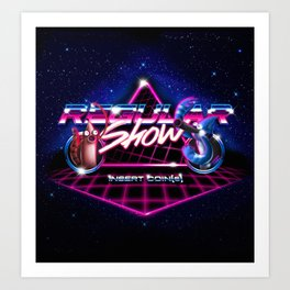 Regular 80's Show Art Print