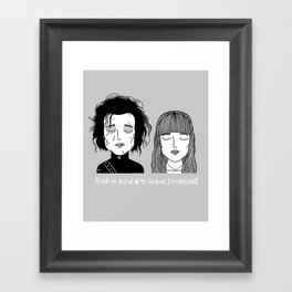 E & K Framed Art Print