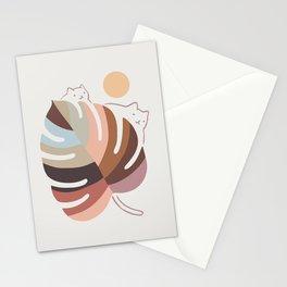 Cat Landscape 76 Stationery Cards