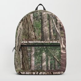 SHADOWS ON A WOODLAND PATH Backpack