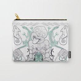 Tiki Moko Carry-All Pouch
