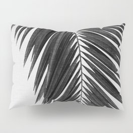 Palm Leaf Black & White I Pillow Sham