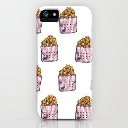 Smiley Egg Waffle Face / Hong Kong Street Food iPhone Case