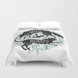 We Are Wild Beasts Duvet Cover