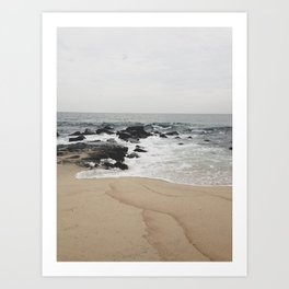 Beach Day 1 Art Print