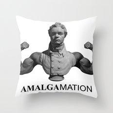 Amalgamation #1 Throw Pillow