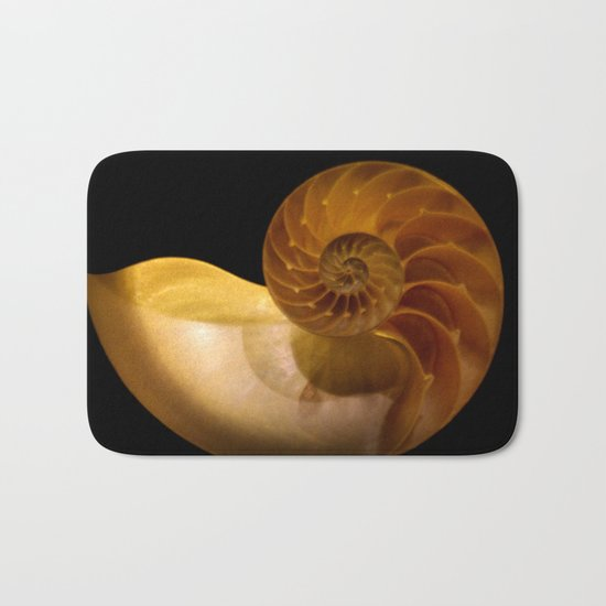 shell Bath Mat