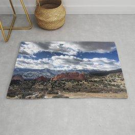 Pikes Peak in Colorado Springs Rug