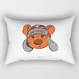 Bino and The Bear (Childish Gambino v3005 Tribute) Rectangular Pillow