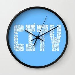 Manchester City 2018 - 2019 Wall Clock