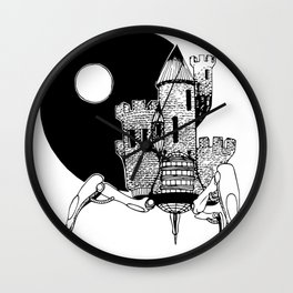 Castle of the Night Wall Clock