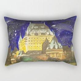 Chateau Frontenac Rectangular Pillow