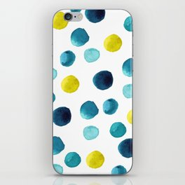 Polka Dot Beach Party iPhone Skin