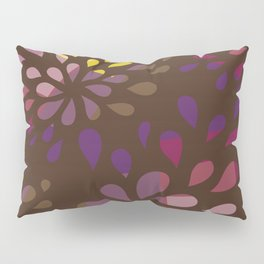 Dark drops Pillow Sham