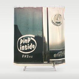 ain't I clean, bad machine Shower Curtain