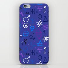 Witchcraft mystic signs iPhone & iPod Skin