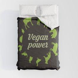Vegan power Comforters