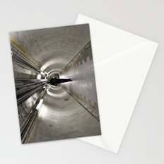 IN A LONDON UNDERGROUND TUNNEL Stationery Cards