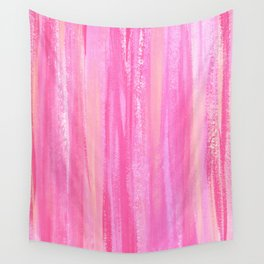 Strawberry Peaches Wall Tapestry