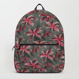 Snake Palms - Light Vintage Coral Backpack
