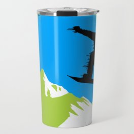 Snowboarding Travel Mug